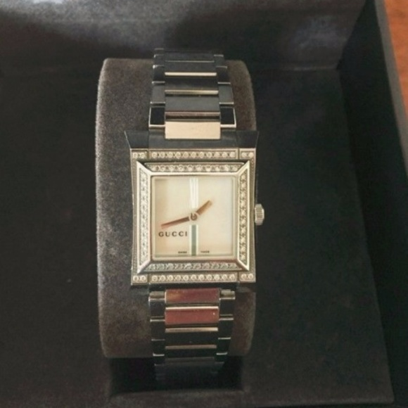 a486d4a9b7f Gucci Accessories - Gucci Watch - Diamond Mother of Pearl 111L Series